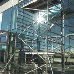 Pojazdné lešenie pre výmenu okien,BA