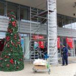 Inštalácia Vianočnej výzdoby, Bratislava