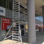 Rekonštrukčné práce UniCredit Bank Bratislava