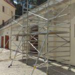 Pojazdné lešenia pre rekonštrukciu fasády