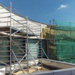 Hliníkové lešenie na streche TB, BA