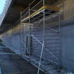 5m dlhé pojazdné lešenie pre montáž podhľadov